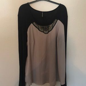 Maurice's Long Sleeved blouse